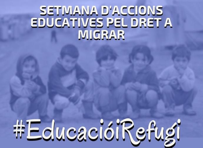 Setmana d'accions educatives pel dret a migrar, del 10 al 18 dedesembre