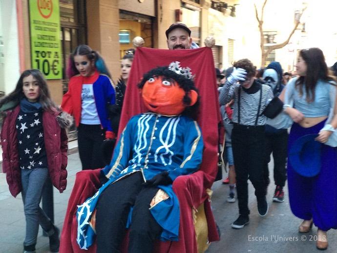 Celebrem el Carnaval a l'escola l'Univers