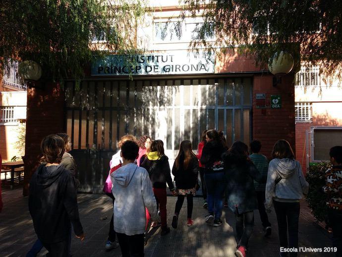 L'alumnat de 6è visita els Instituts de la Sedeta i Príncep de Girona