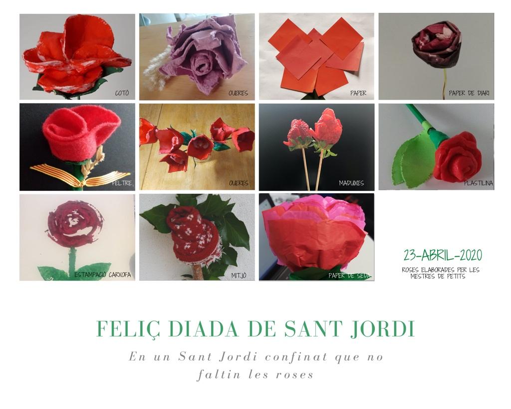 FELIÇ DIADA DE SANT JORDI